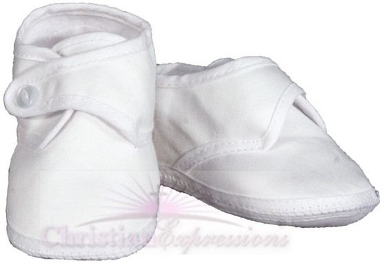 Boys Cotton Christening Shoes for Sale