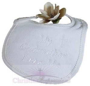 Godmother Christening Bib