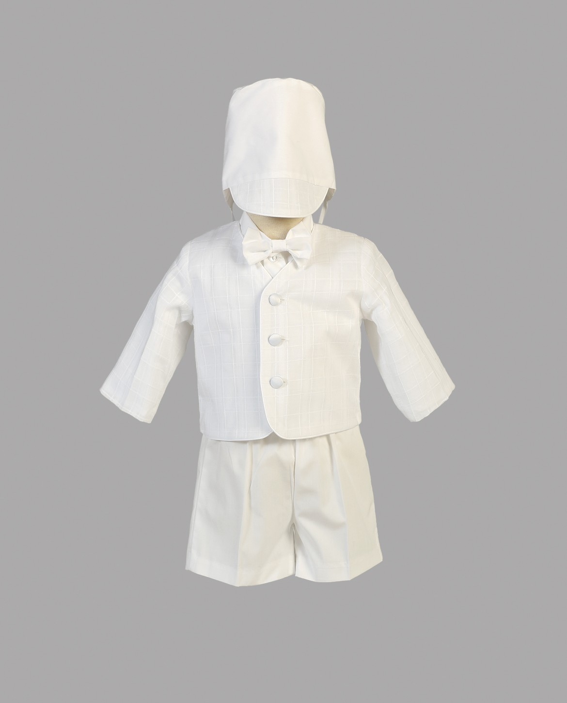 Boys Baptism Suit with Shorts