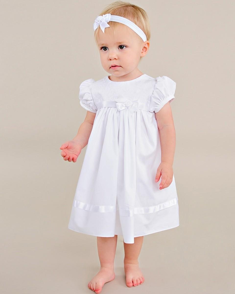 Short Christening Dress for Girls
