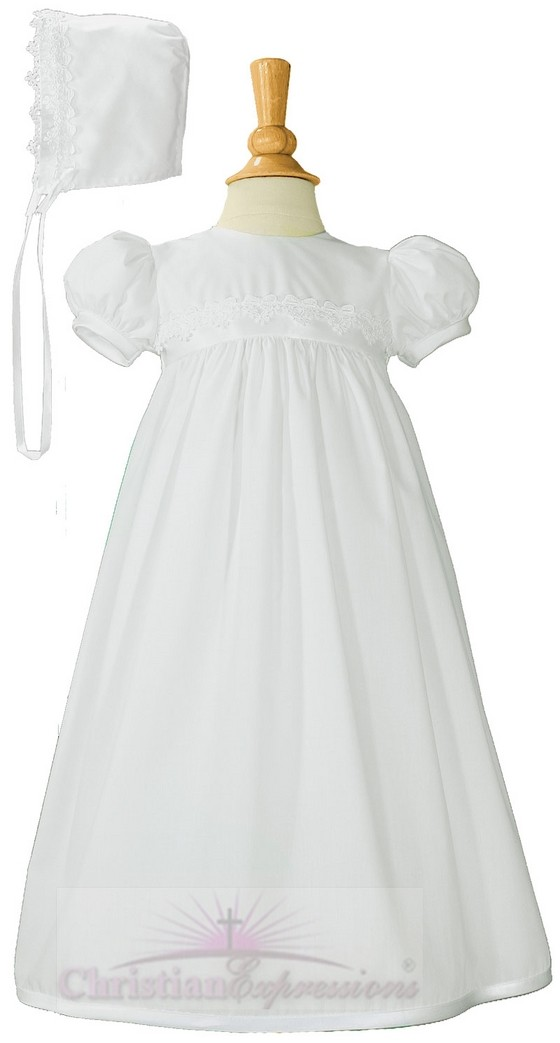 Simple Christening Gowns for Girls
