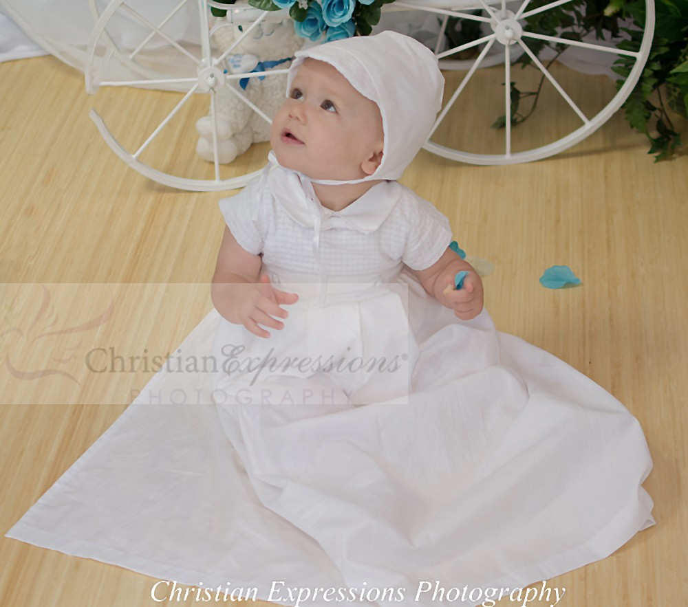 Boys Detachable Christening Gown | Boys Two in One Christening Gown ...
