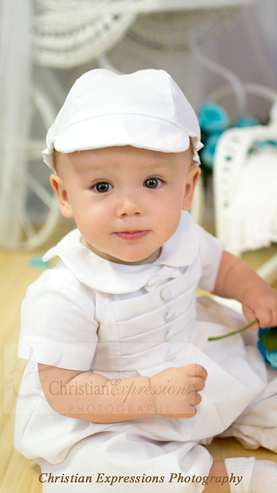 Cotton Baptism Outfits for Toddlers