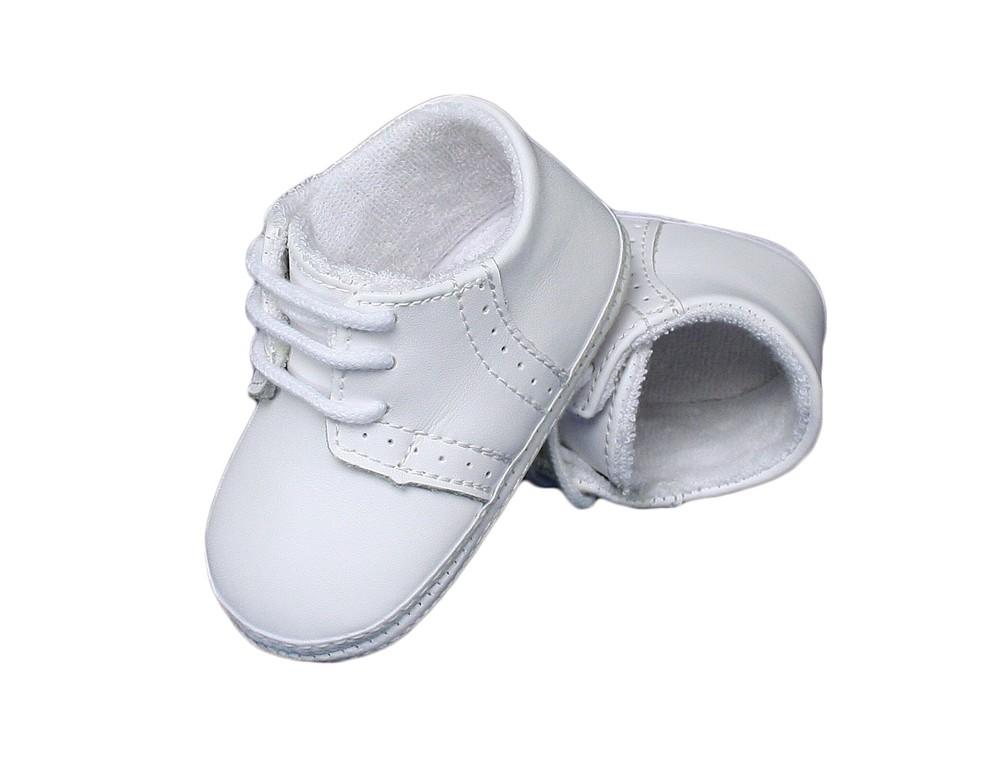 Baby Boys Genuine Leather Saddle Oxford Christening Shoes