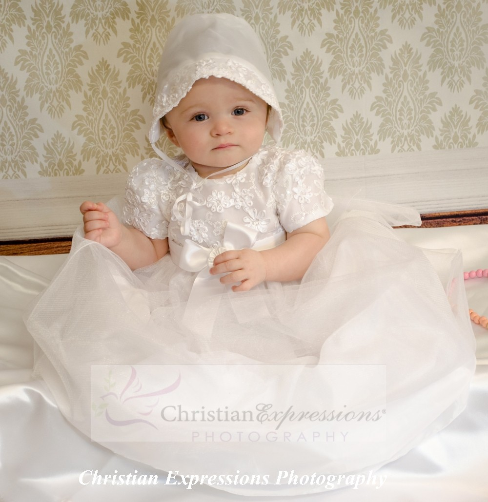 girls christening gown style lillian
