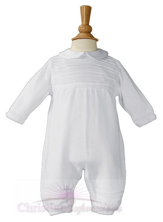 Boys Christening Coverall Style Ryan