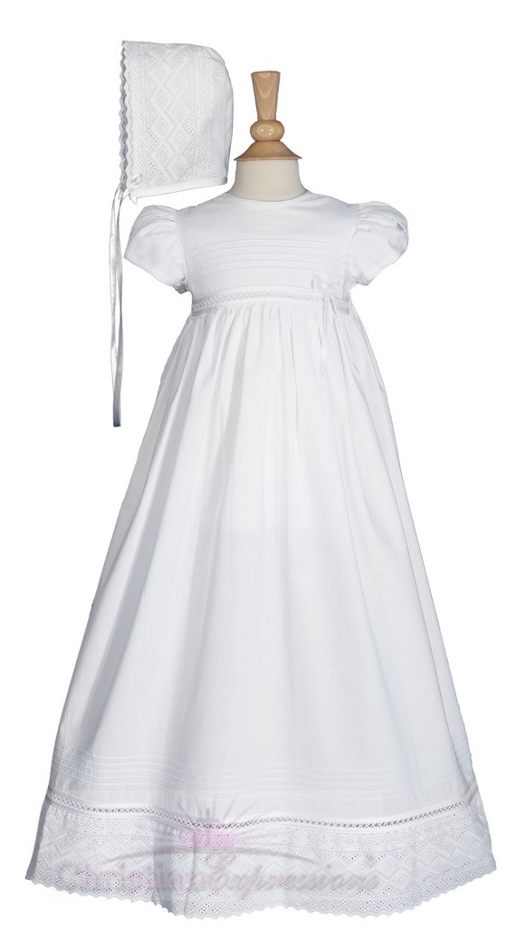Long Baptism Gowns for Girls