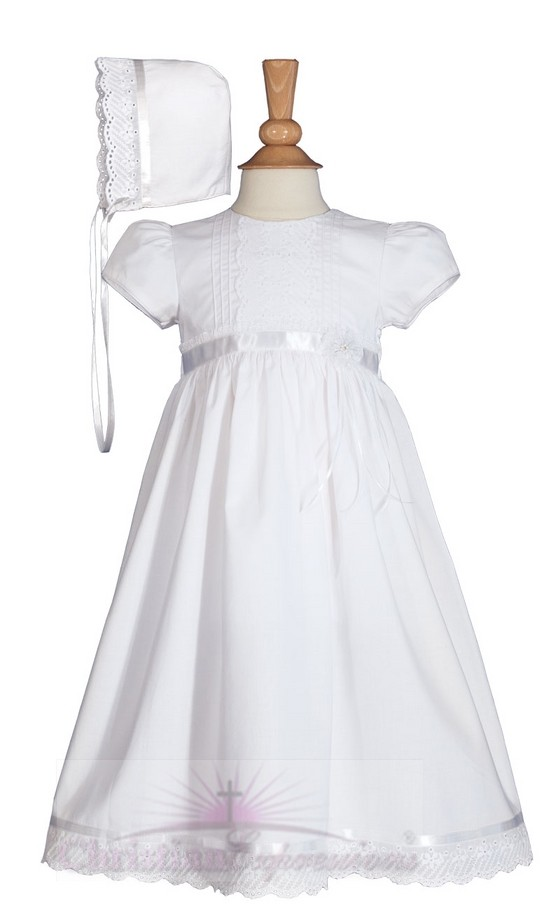 Beautiful Cotton Baptism Dress
