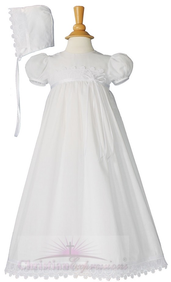 Girls Christening Dress Style Nina