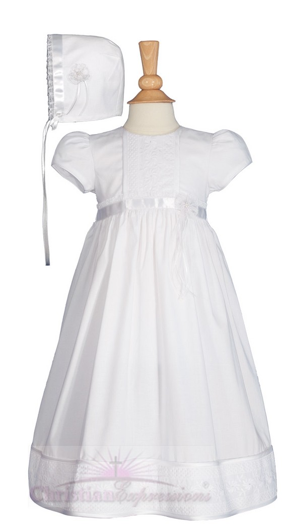 Cotton Christening Dresses for Girls