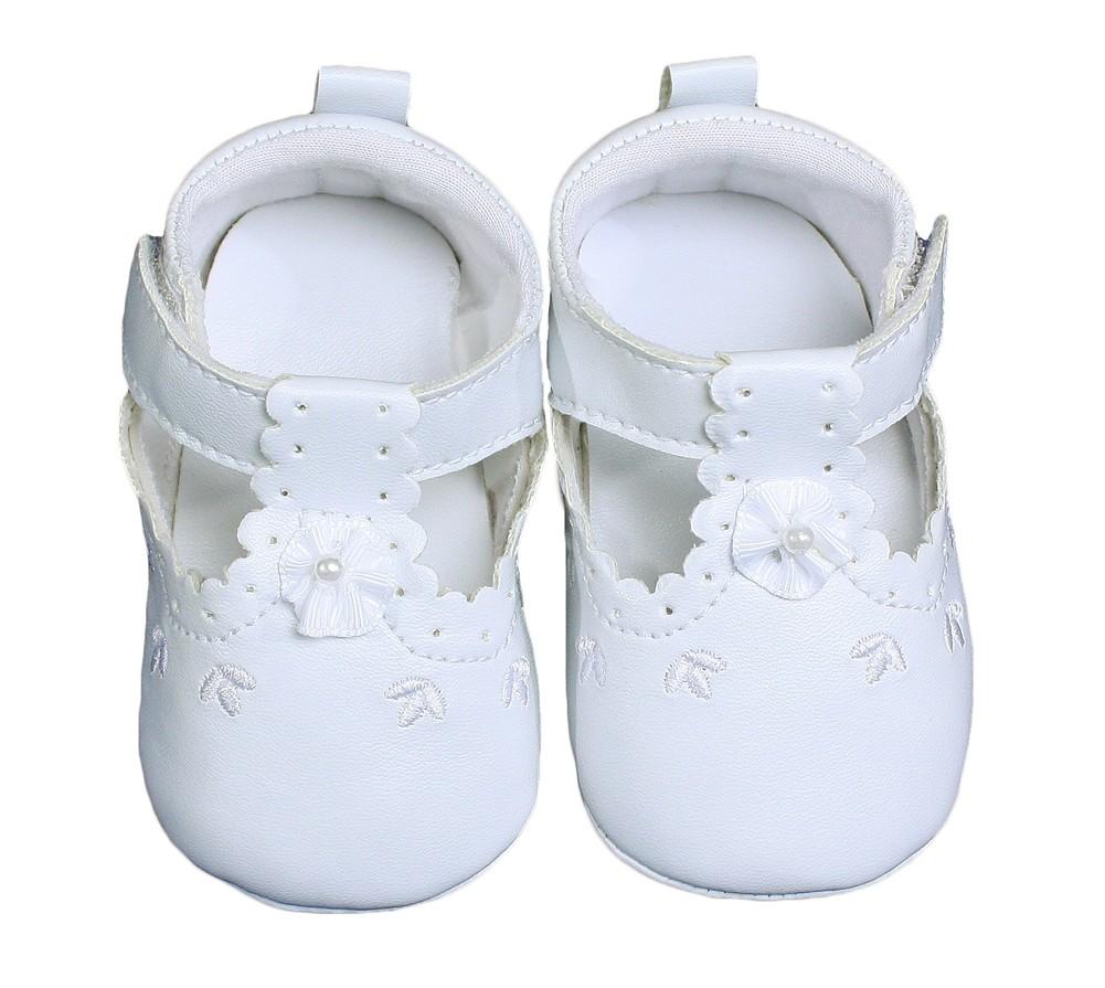 Girls Mary Jane Christening Shoes