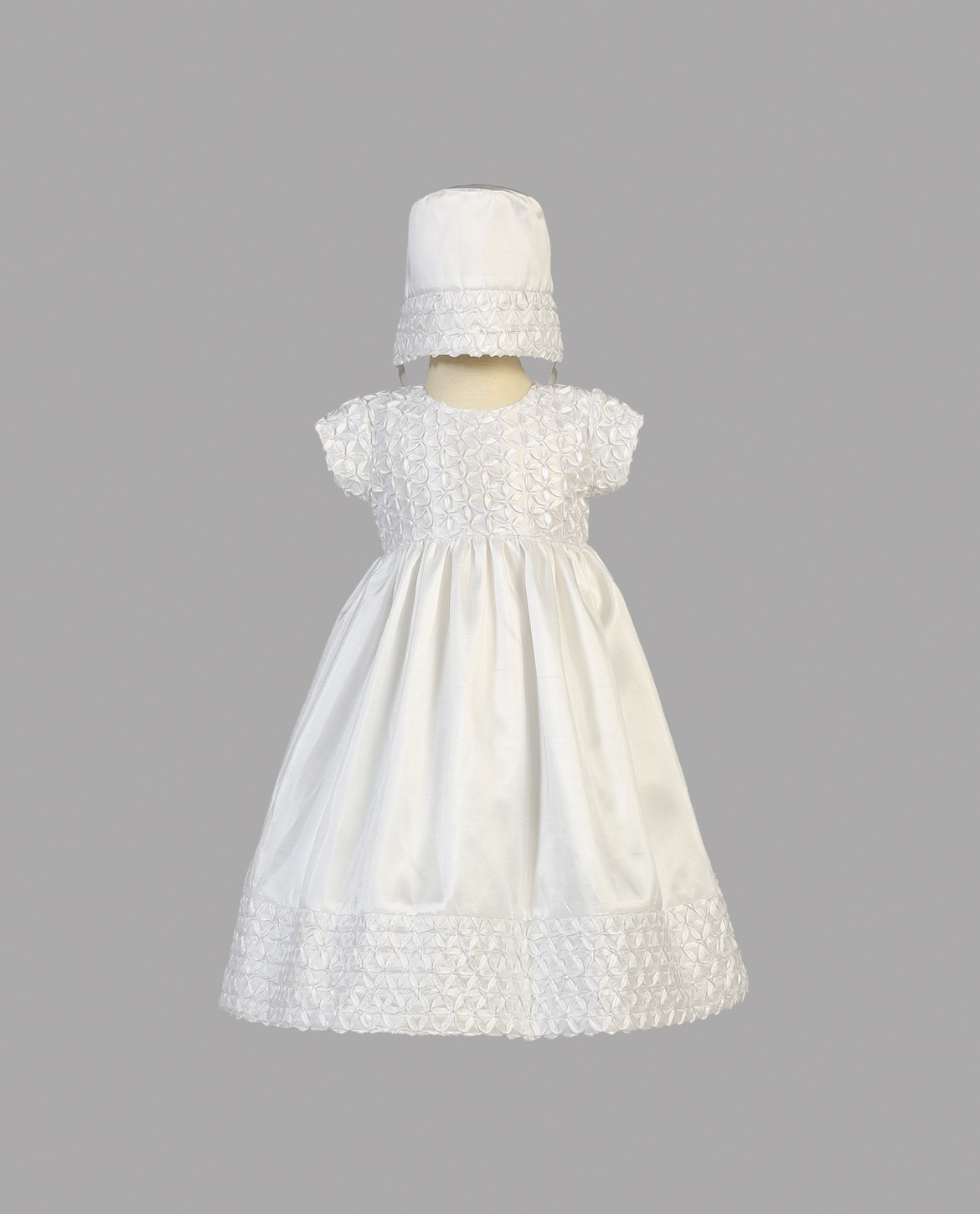 Taffeta Baptism Dresses for Girls