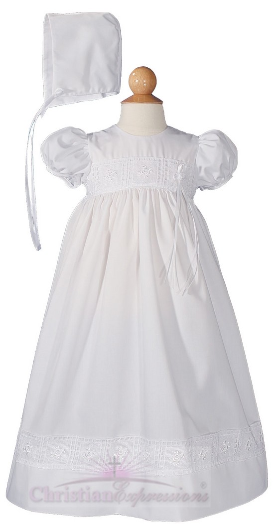 Girls Christening Gown Style Riley
