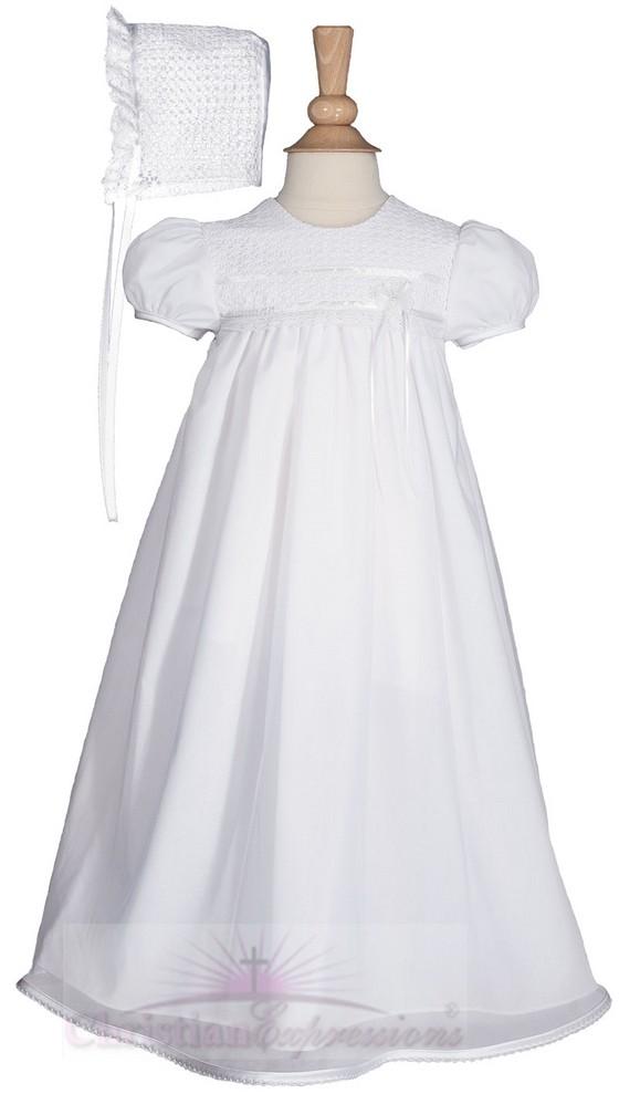Girls Christening Gown Style Peyton