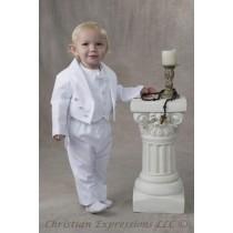 Boys Christening Tuxedo Suit Style Jeffrey