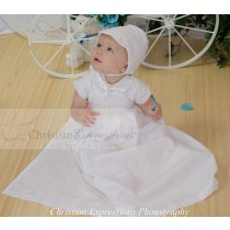 Boys Convertible Christening Gown Set