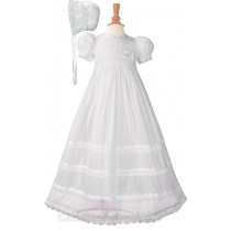 Girls Victorian Lace Christening Gowns