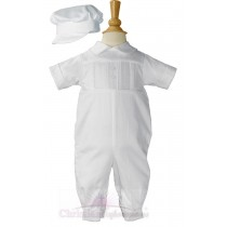 Boys Christening Romper Style Tony