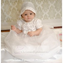 Modern Christening Gowns for Girls