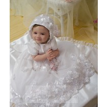 Floral Christening Gowns for Girls