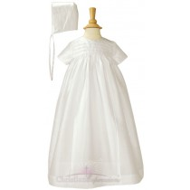 Traditional Silk Heirloom Christening Gowns