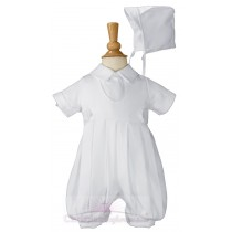 Boys Christening Romper Suits