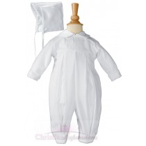 Boys Irish Christening Outfit with Shamrocks