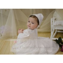 Irish Shamrock Christening Gowns for Baby Girl