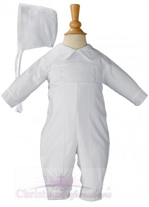 Boys Christening Coverall Style William