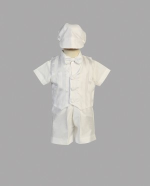 Boys Christening Outfit with Short Pants