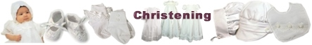 Christening Gowns for Girls | Boys Baptism Suits & Rompers